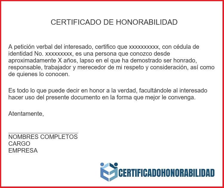 Certificado para estudiantes