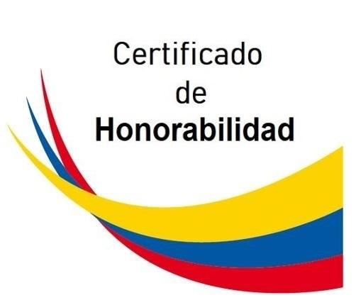 certificado honorabilidad en quito