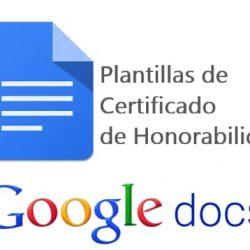 las mejores plantillas de certificados de honorabilidad